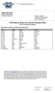 FIM_Sidecar_Motocross_World_Championships_-_2017_Provisional_Calendar