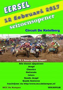 2017 Seizoensopener Eersel, NL
