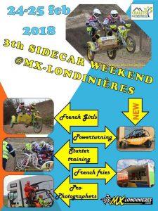 Sidecar practice weekend Londiniers, F