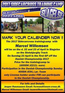 2017 Sidecarcross Trainingcamp Slagelse, DK