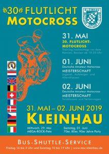 Flutlicht motocross Kleinhau, D