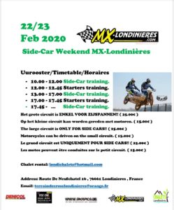 Side-Car Weekend MX-Londiniéres @ MX Londinières