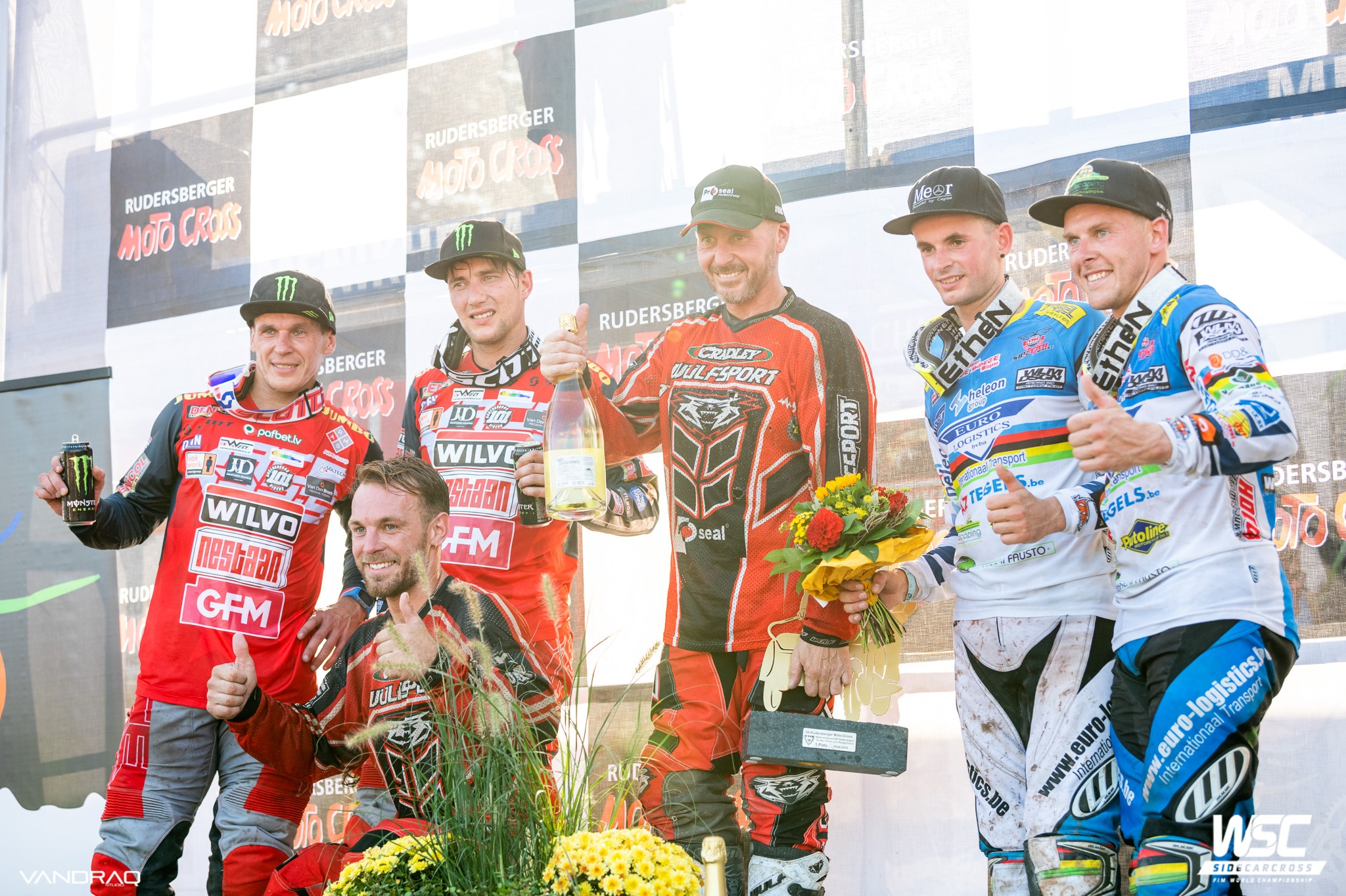 Sidecar Motocross Racing